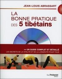 BONNE PRATIQUE DES 5 TIBETAINS (LA) AVEC DVD