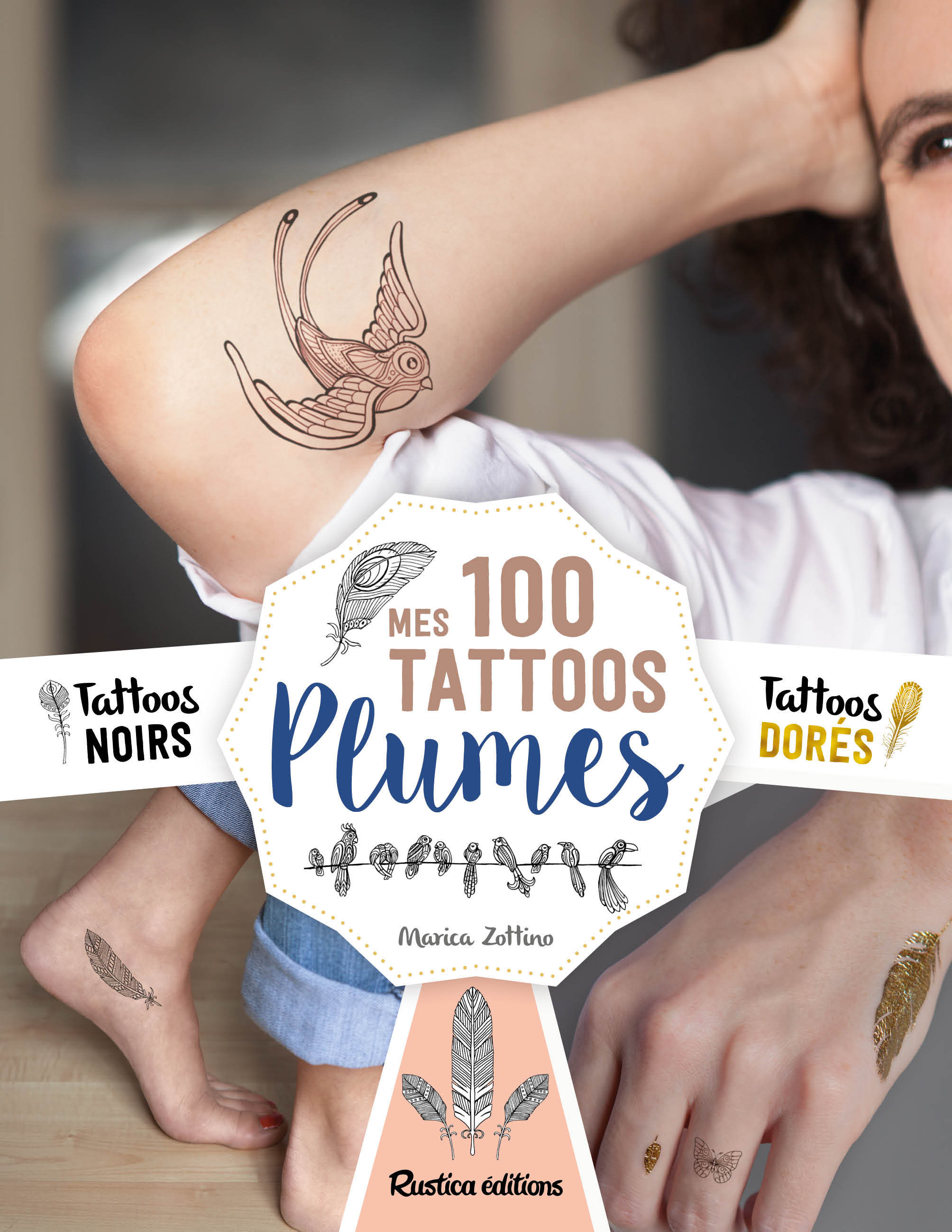 MES 100 TATTOOS PLUMES