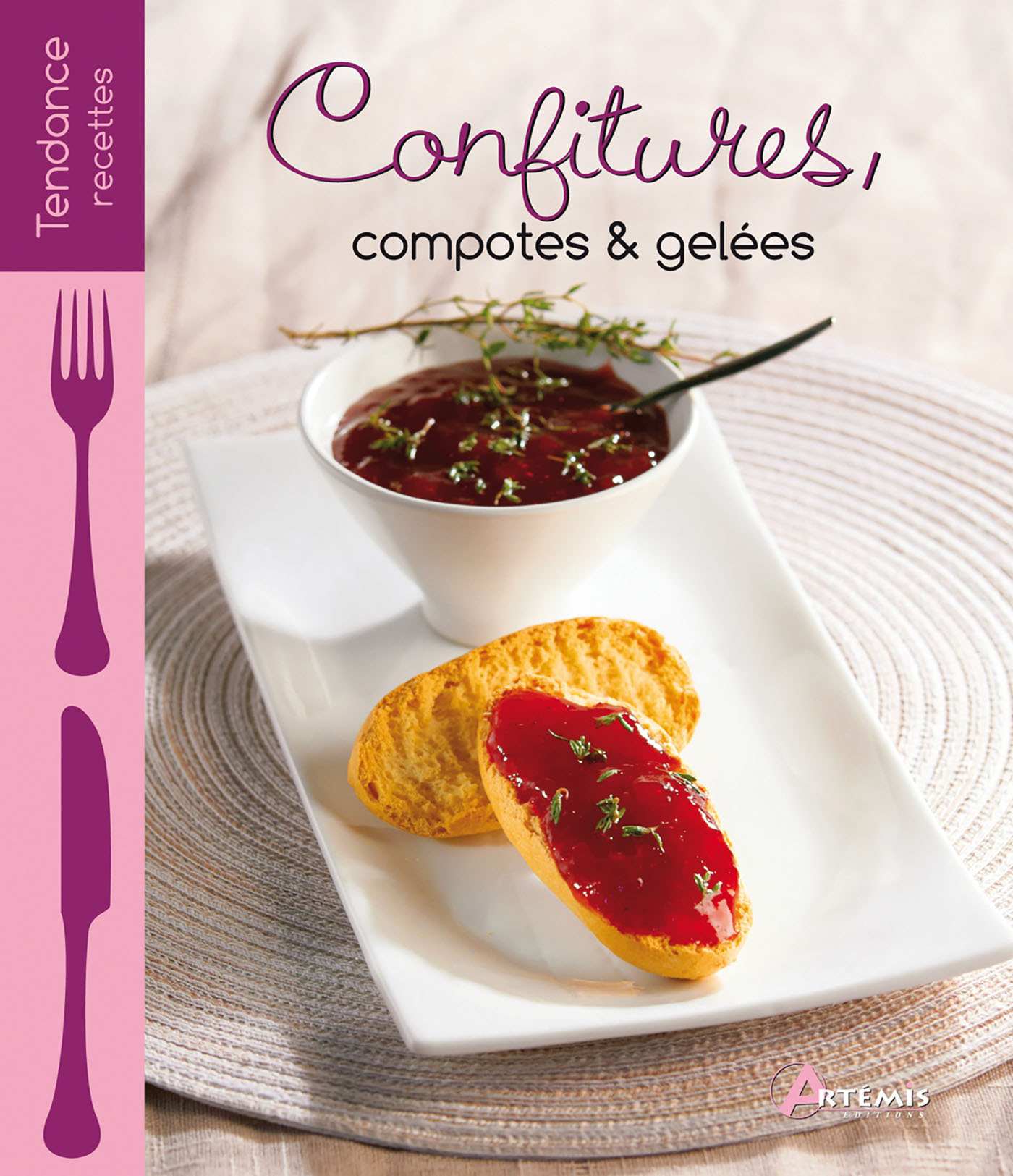 CONFITURES, COMPOTES & GELEES