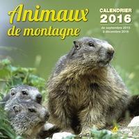 CALENDRIER ANIMAUX DE MONTAGNE - 2016
