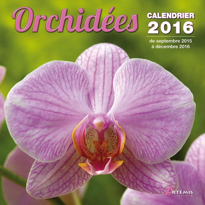 CALENDRIER ORCHIDEES - 2016
