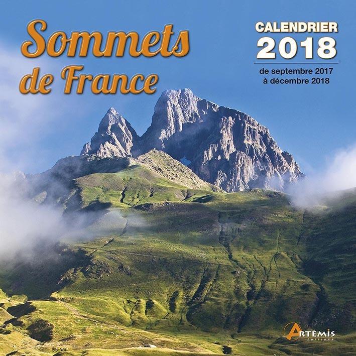CALENDRIER LES PLUS BEAUX SOMMETS DE FRANCE