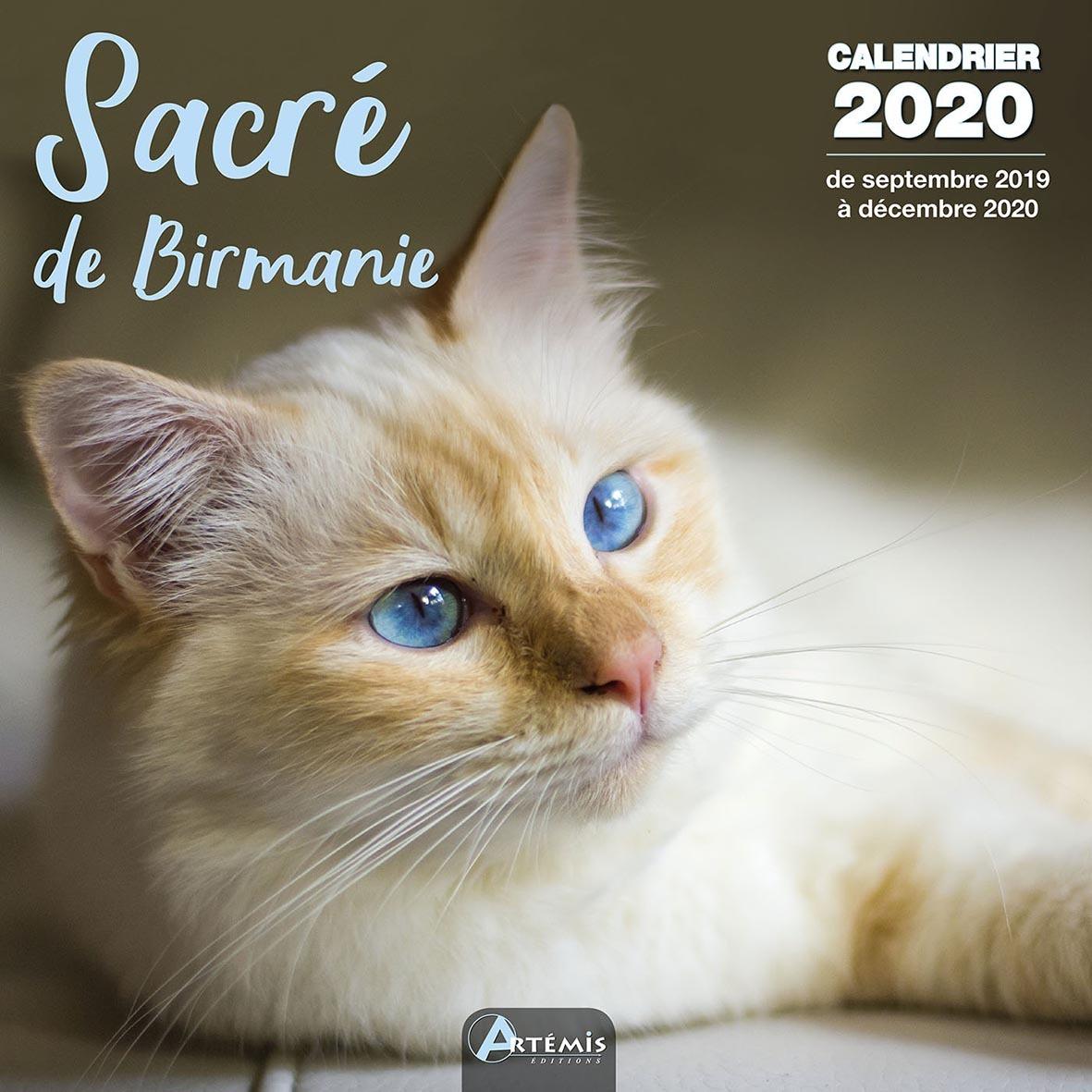CALENDRIER SACRE DE BIRMANIE (2020)