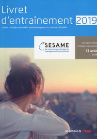 LIVRET D'ENTRAINEMENT CONCOURS SESAME 2019