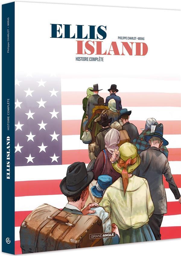 Ellis island - ecrin vol. 01 et 02 - ellis island - ecrin histoire complete