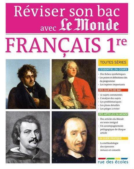 REVISER SON BAC AVEC LE MONDE - FRANCAIS 1ERE