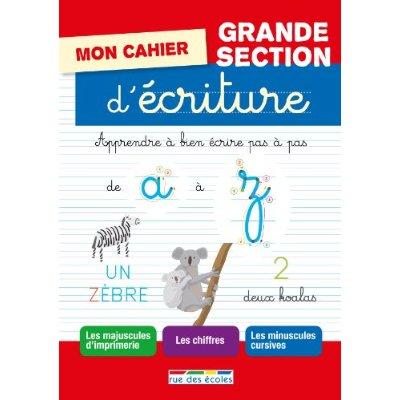 MON CAHIER D'ECRITURE GS