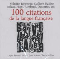 100 CITATIONS DE LA LANGUE FRANCAISE