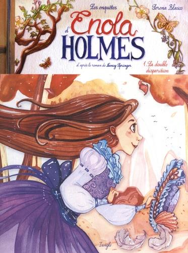 Les enquetes d'enola holmes - tome 1 la double disparition - collector - vol01