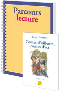 CONTES D'AILLEURS, CONTES D'ICI-18 LIVRES + FICHIER CM1