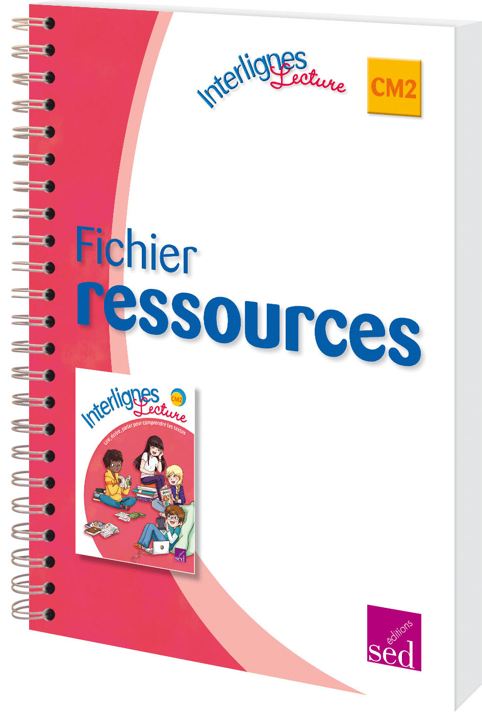 INTERLIGNES LECTURE CM2-FICH.RESSOURCES+CD ROM