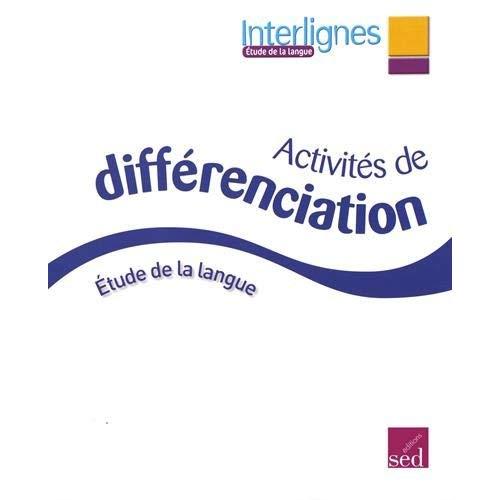 Interlignes edl ce2 classeur de differenciation 2016