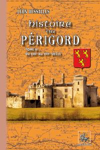 HISTOIRE DU PERIGORD (TOME 2)