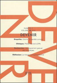 DEVENIR VOL 16 N 1 2004