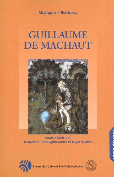 GUILLAUME DCE MACHAUT