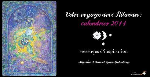 VOYAGE AVEC RITAVAN : CALENDRIER 2014  (VOTRE)
