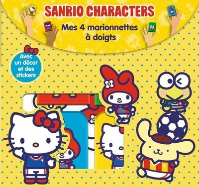 SANRIO CHARACTERS - MES 4 MARIONNETTES A DOIGTS