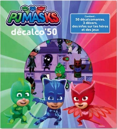 PJMASKS - DECALCO'50