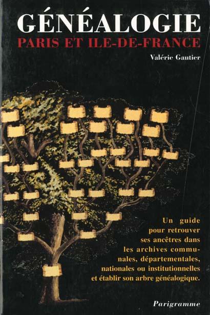 GENEALOGIE PARIS ET ILE DE FRANCE