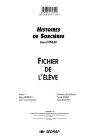 HISTOIRES DE SORCIERES - FICHIER