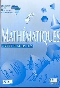 MATHEMATIQUES CIAM 4E / LIVRET D'ACTIVITES