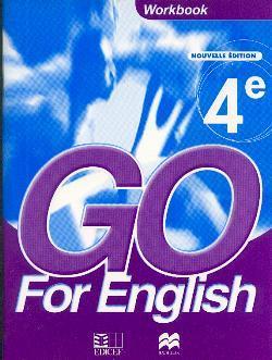 GO FOR ENGLISH 4E / LIVRET D'ACTIVITES