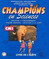 CHAMPIONS AU TCHAD EN SCIENCES LIVRE ELEVE CM1