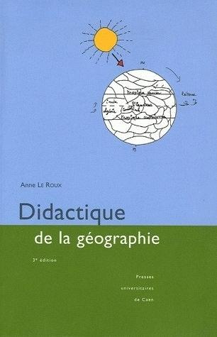 DIDACTIQUE DE LA GEOGRAPHIE