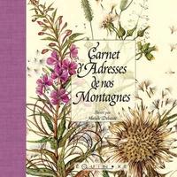 CARNET D ADRESSES DE NOS MONTAGNES CARDINAL PETIT FORMAT