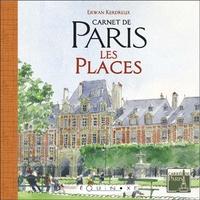 CARNET DE PARIS LES PLACES