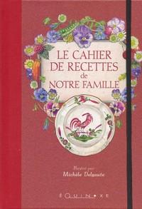 LE CAHIER DE RECETTES DE NOTRE FAMILLE