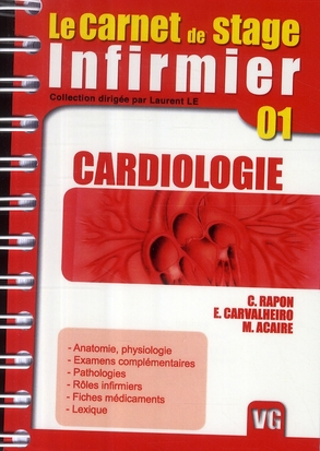 CARNET DE STAGE INFIRMIER CARDIOLOGIE