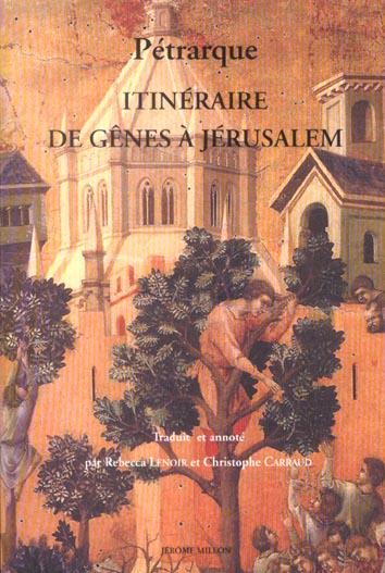 ITINERAIRE DE GENES A JERUSALEM ET A LA TERRE SAINTE