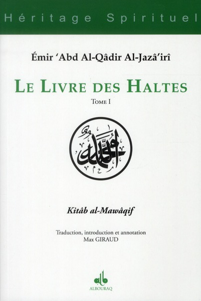 LIVRE DES HALTES (LE) - TOME I