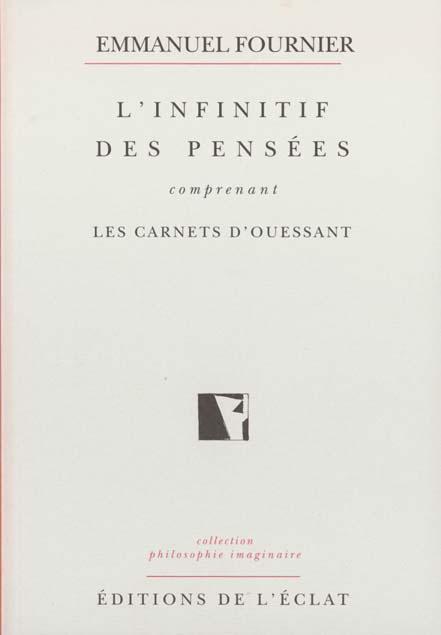 L'INFINITIF DES PENSEES