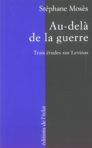 AU-DELA DE LA GUERRE