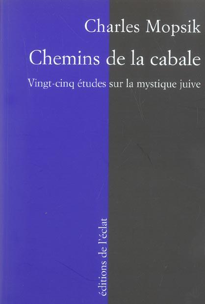 CHEMINS DE LA CABALE