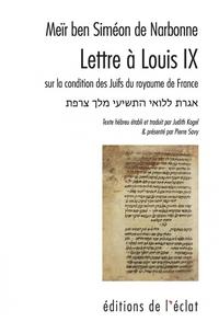 LETTRE A LOUIS IX