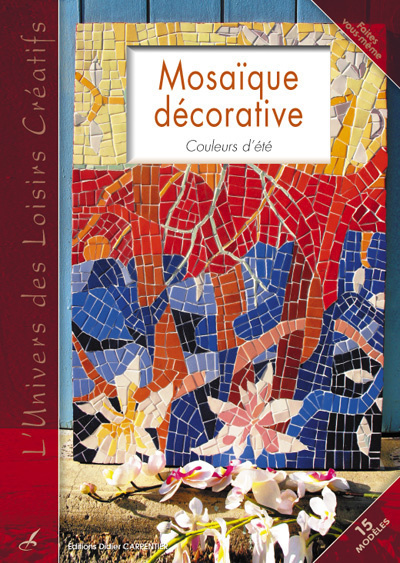 MOSAIQUE DECORATIVE - COULEURS D'ETE