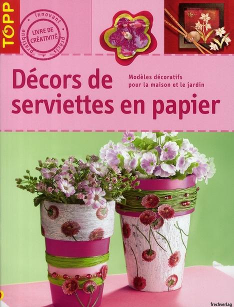 DECORS DE SERVIETTES EN PAPIER