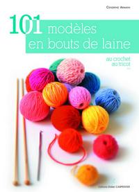 101 MODELES EN BOUTS DE LAINE