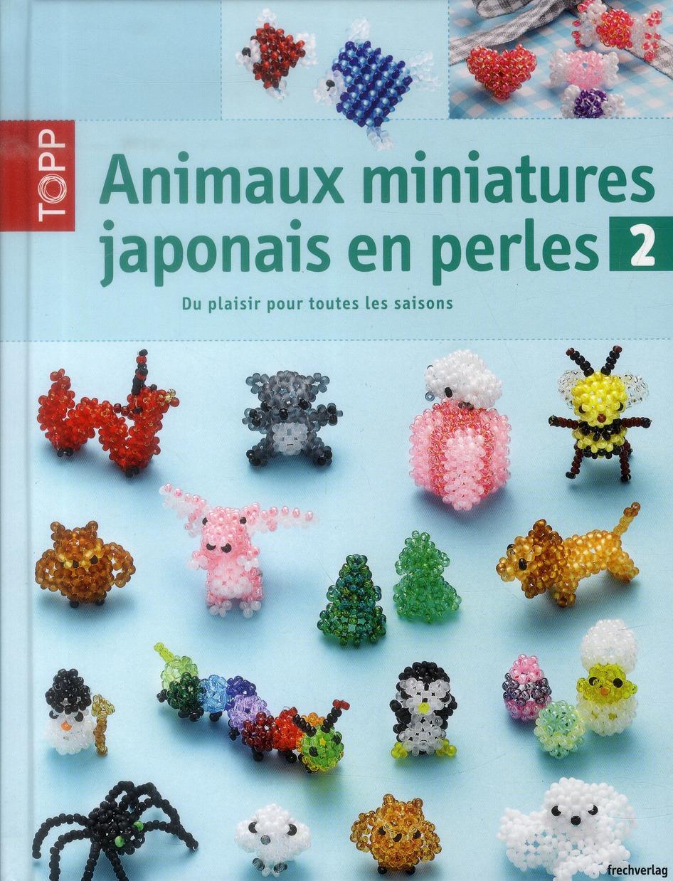 ANIMAUX MINIATURES JAPONAIS EN PERLES VOL 2