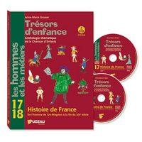 HISTOIRE DE FRANCE - TRESORS D'ENFANCE