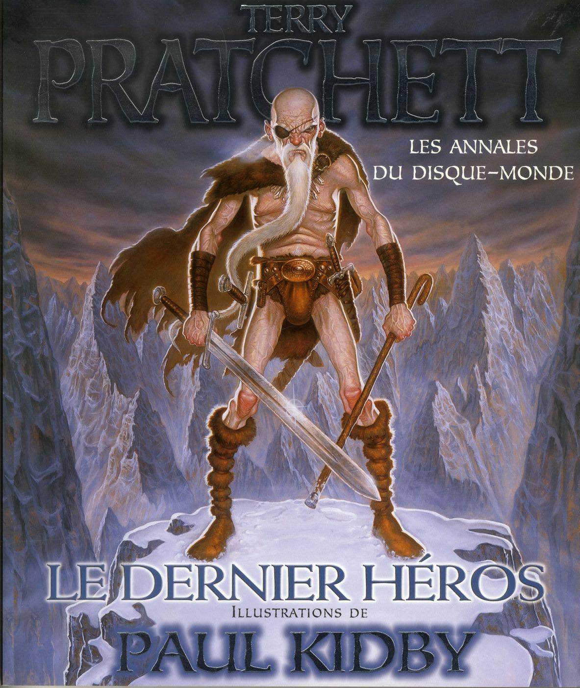 LE  DERNIER HEROS LES ANNALES DU DISQUE MONDE 23