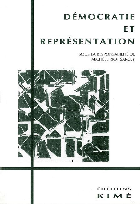 DEMOCRATIE ET REPRESENTATION