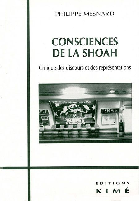 CONSCIENCES DE LA SHOAH