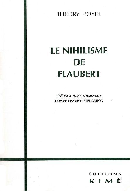 LE NIHILISME DE FLAUBERT