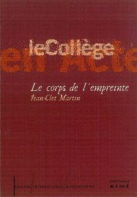 LE CORPS DE L'EMPREINTE - PHOTOGRAPHIES DE FRANCOIS ROUAN