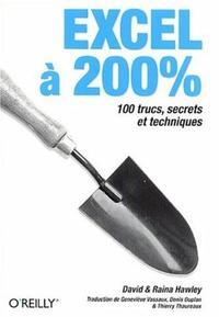 EXCEL A 200% : 100 TRUCS, SECRETS ET TECHNIQUES