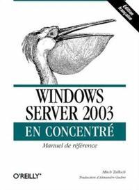 WINDOWS SERVER 2003 EN CONCENTRE